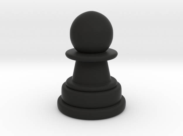 Pawn in Black Strong & Flexible