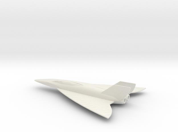 1/72 CONVAIR FISH RECON (SUPER HUSTLER) in White Natural Versatile Plastic