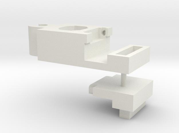 WarbotronWB01-C Canon ShoulderMountHandleHinge(sp) in White Natural Versatile Plastic