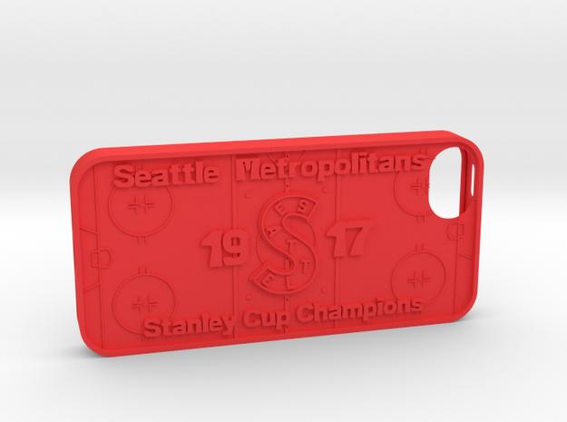 iPhone 5 Seattle Metros Hockey 3d printed