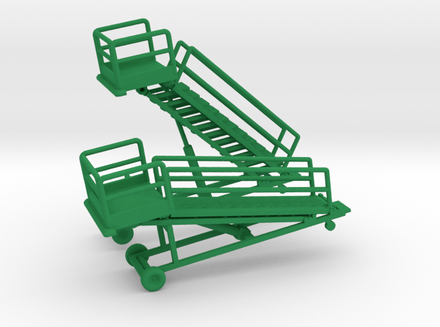 1/144 B1M Maintenance Stand (2x) in Green Processed Versatile Plastic