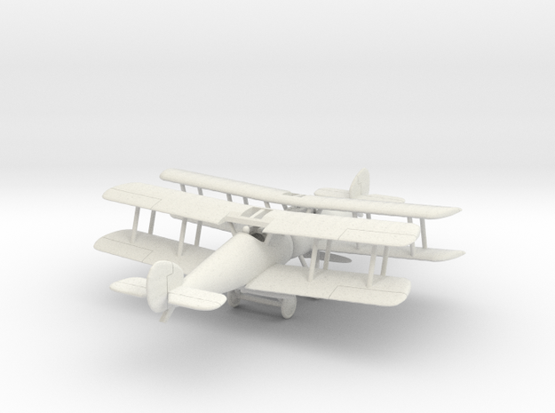 1/144 Sopwith Snipe x 2 in White Strong & Flexible