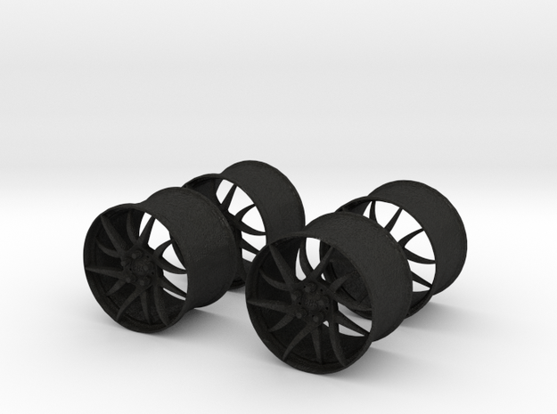 18x12 BBS Wheel Set #1  1/25 Scale