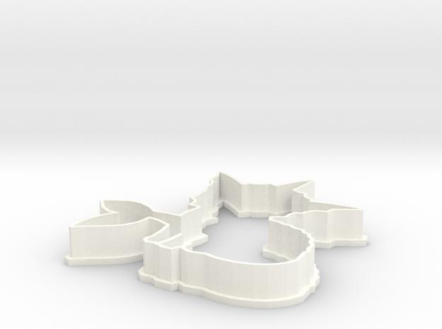 Vaporeon Cookie Cutter 3d printed