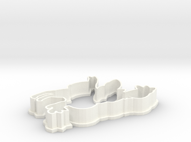 Sylveon Cookie Cutter 3d printed
