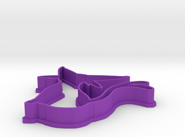 Espeon Cookie Cutter 3d printed