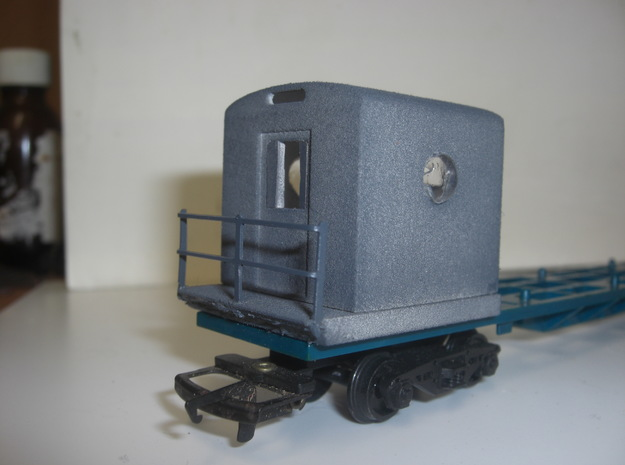 freightliner guards pod kit 3d printed courtesy of Mark Pearson of Stirling and Clackmannan Model Rail Club