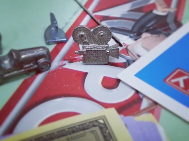 Vintage Camera - Monopoly Game Piece (Rags to Rich