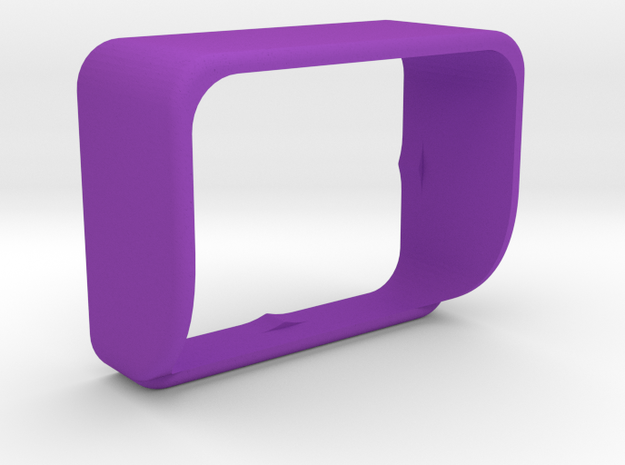 AEE S70 sunshade for diving chamber in Purple Strong & Flexible Polished