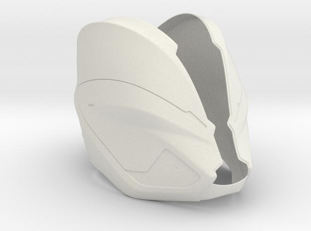 Part 1/3_Tron Legacy Quorras Helmet 3d printed