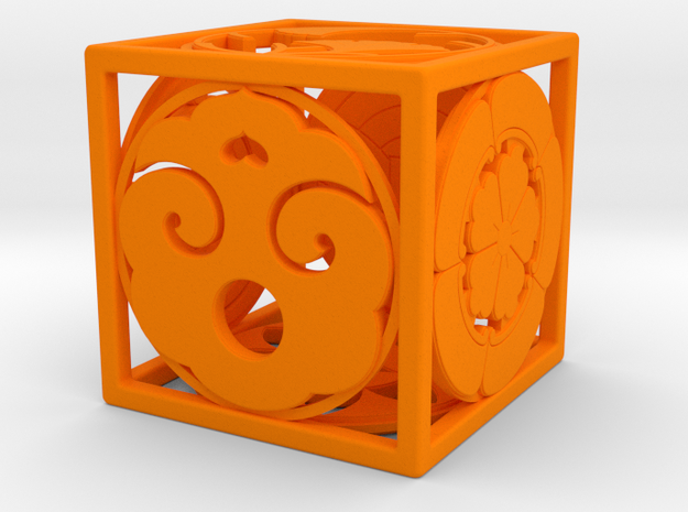 Japanese-inspired Ornament 3d printed