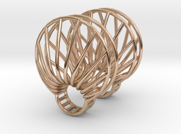 parameters | clamshell ring 2 3d printed