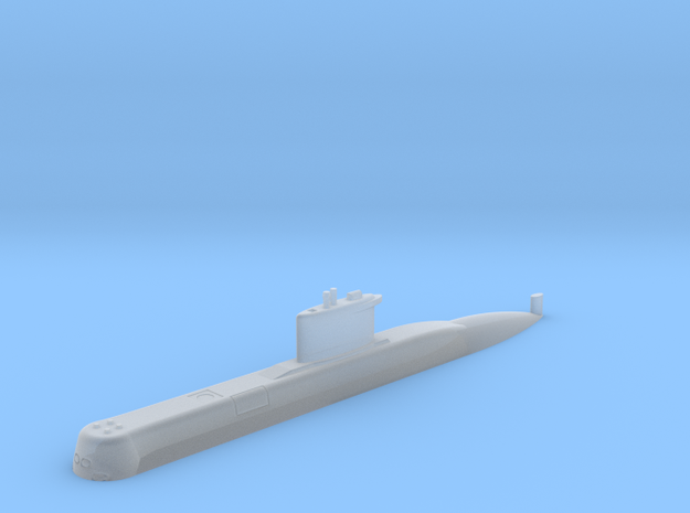 1/700 Type 209 - 1200 class submarine (Waterline) in Smooth Fine Detail Plastic
