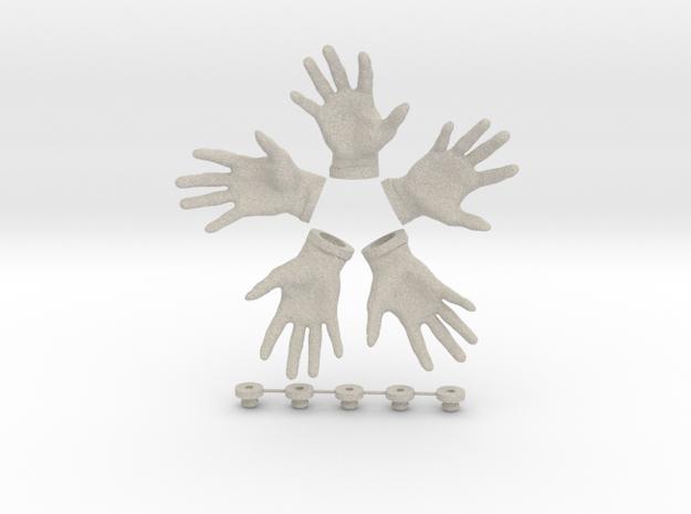 Lay It On Me - Hook / Fridge Magnet [5pcs] 3d printed
