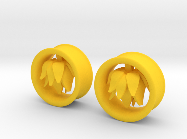 1 Inch Blossom Tunnel in Yellow Processed Versatile Plastic