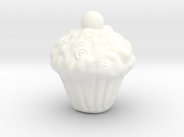 Yazdi Cake in White Processed Versatile Plastic