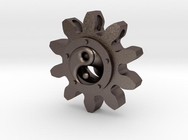 Yin yang Pendant in Stainless Steel