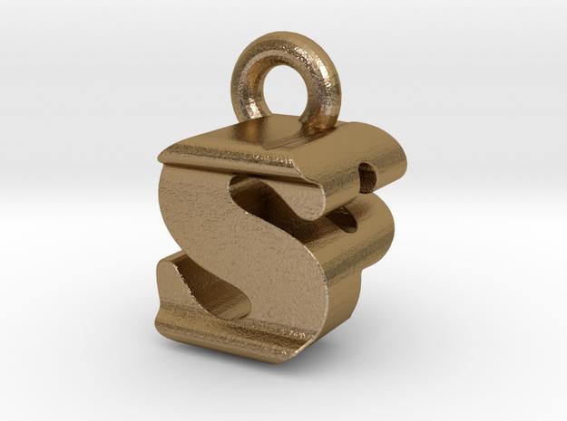 3D Monogram - SPF1 in Polished Gold Steel