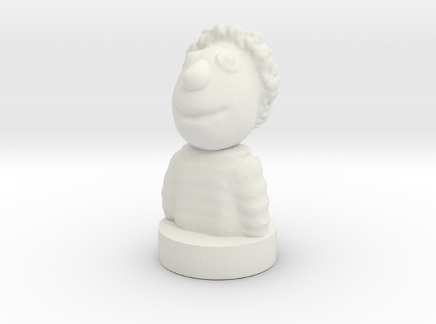 Kolah-ghermezi in White Natural Versatile Plastic