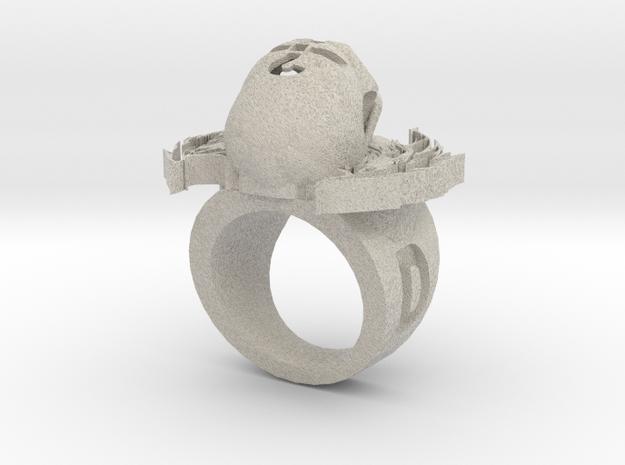 new skull ring in Sandstone