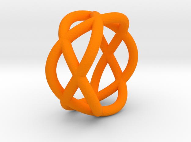 Napkin Ring Pretzel 3d printed