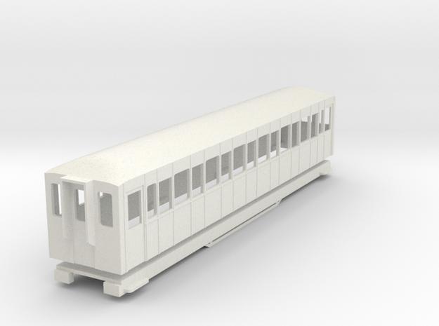BM4-106 009 FR Coach 110 in White Natural Versatile Plastic