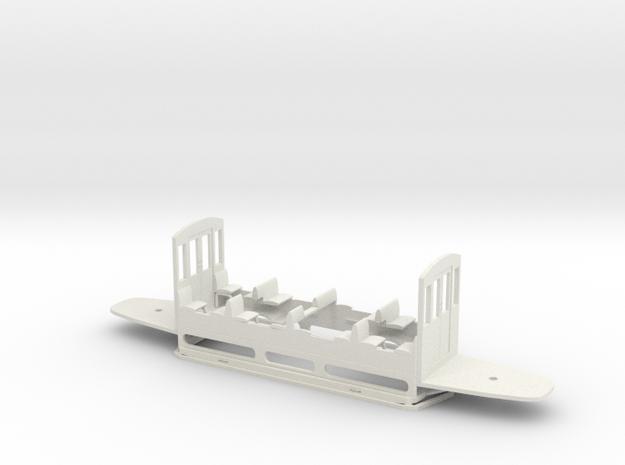 ESW ET2mr UT für LH-Antrieb in White Natural Versatile Plastic