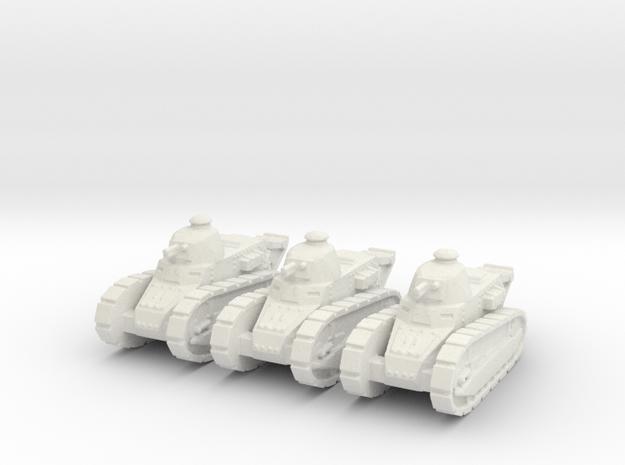 Renault FT Tank 1/160 x3 3d printed
