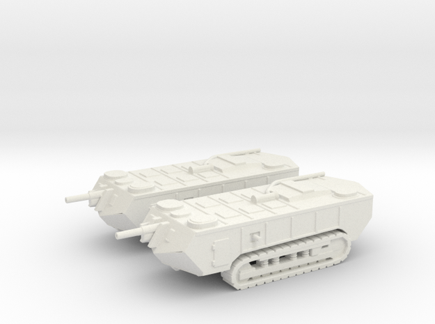 1/160 WW1 Saint-Chamond tanks x2