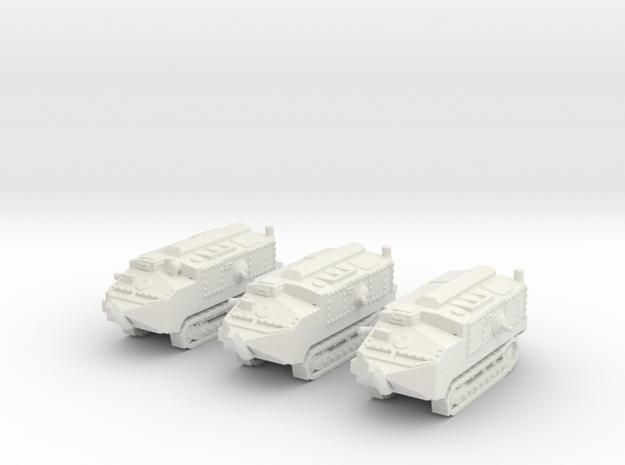 1/160 scale Schneider tank 3d printed