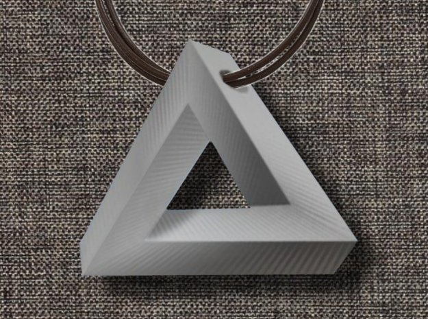 Impossible Pendant! 3d printed design