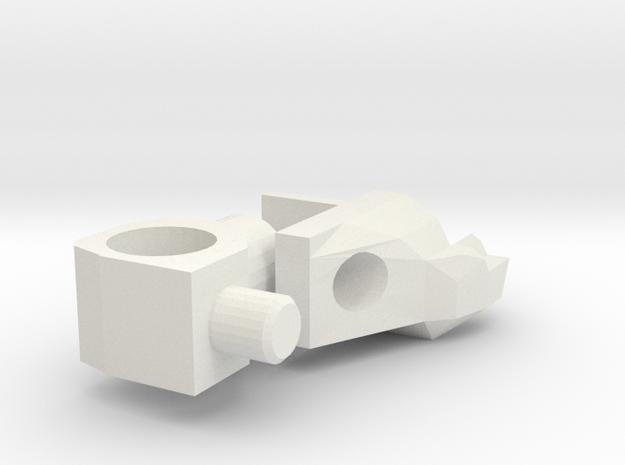 Generations Stealth Bomber shoulder mount 2.0 3d printed