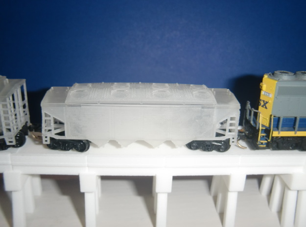 U12 N Scale No Roofwalk 3d printed