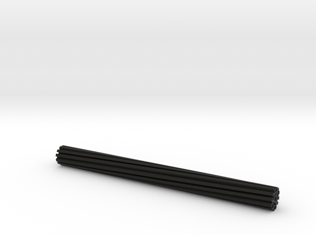 Neato helical sweeper axle in Black Natural Versatile Plastic