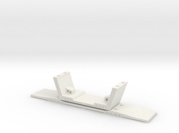 HO/1:87 Precast concrete bridge segment (wide/no r 3d printed