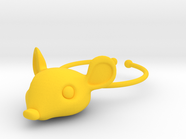 Mouse Wine Glass Charm 3d printed