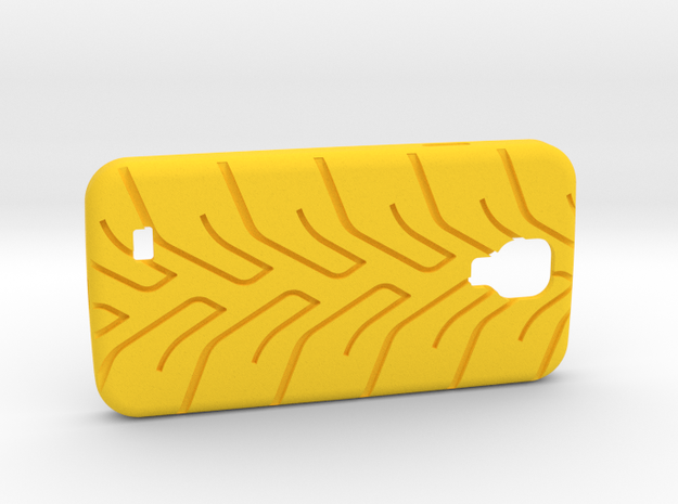 Galaxy S4 case A048 tread 3d printed