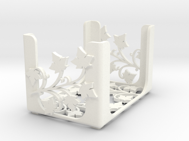 Arcadia Quest - blank (mini cards) in White Processed Versatile Plastic