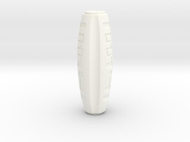 ARROW - Bandolier Gadget (Base) in White Processed Versatile Plastic