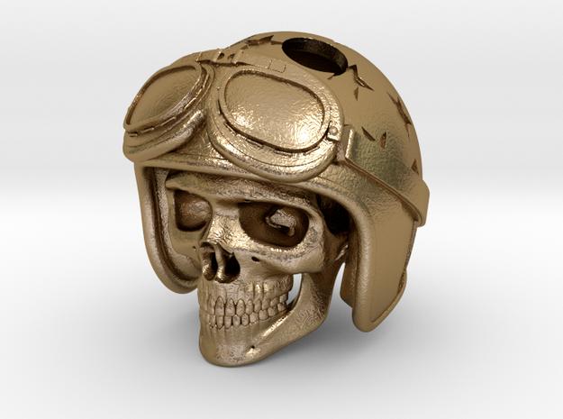"""Easy Rider Skull Pendant """"Silver"""""""