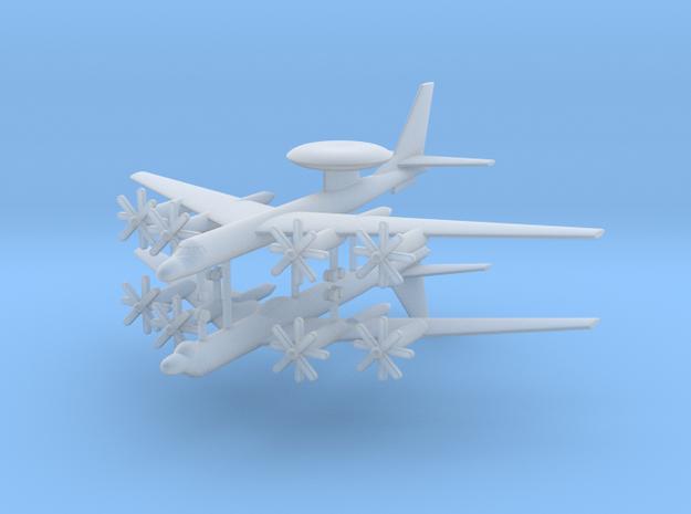 1/700 TU-95RT & TU-126 AEW&C Aircraft (x2) in Smooth Fine Detail Plastic