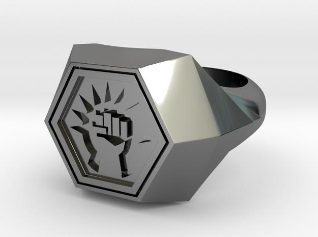 Magic: The Gathering    Boros Ring(US Size 08) 3d printed