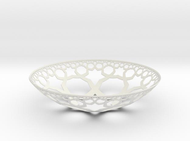 Yarmulke Hyper in White Natural Versatile Plastic