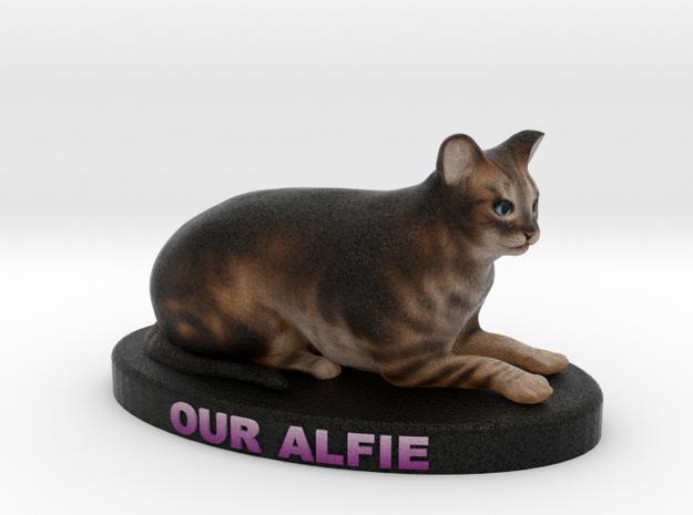Custom Cat Figurine - Alfie 3d printed