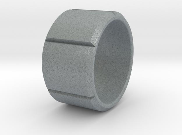 Simplistic Ring in Polished Metallic Plastic