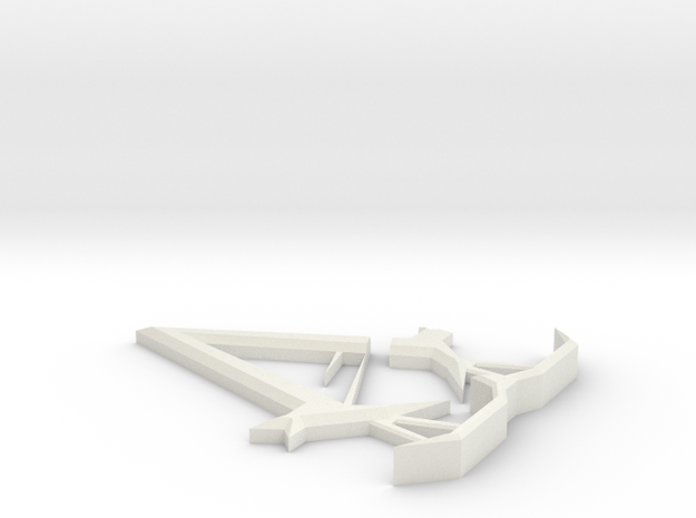 Assassin's Creed Unity Display Piece in White Natural Versatile Plastic
