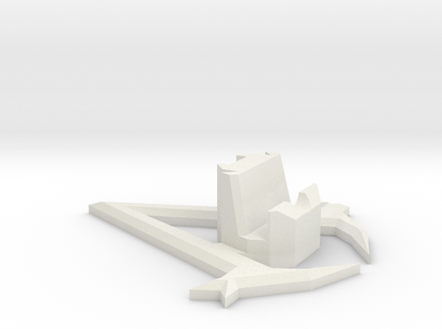 Assassin's Creed Phone Stand Iphone Galaxy in White Natural Versatile Plastic