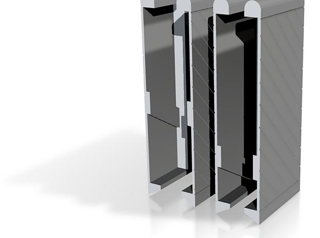 Schutsluis deuren 1:87 3d printed