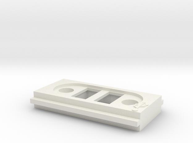 Custom FrontX TwinUSB Plate 3d printed