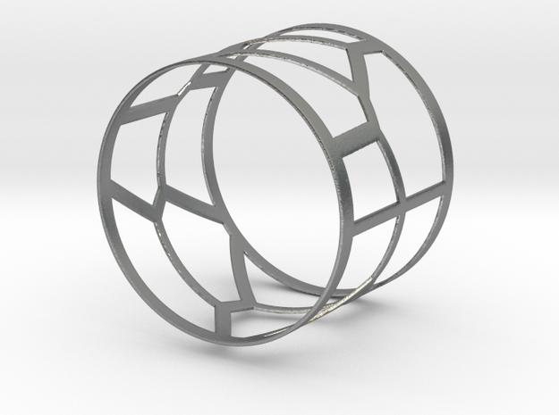 Voronoi Bracelet 1 3d printed